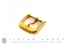 OMEGA buckle in yellow goldplated steel MM 12,5. NEW!
