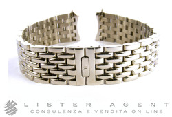 JAEGER-LeCOULTRE bracelet in steel with branded folding clasp lug MM 20,00. NEW!