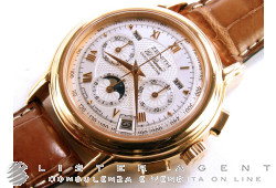 ZENITH El Primero Chronomaster Completely Calendar and Moonphases in 18Kt rose gold Argenté AUT Ref. 17.0240.410/01. USED!