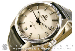 OMEGA Constellation Globemaster in steel White AUT Ref. 13033392102001. NEW!