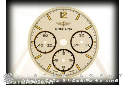 BREITLING dial White for Chrono Callisto. USED!