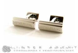 MONTBLANC cufflinks Bar in 925 silver Ref. 112909. NEW!
