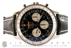 BREITLING Navitimer 01 Chronograph Automatic 43MM in steel Black Ref. AB012012BB01. NEW!