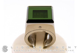 FOSSIL by Starck watch ring Green Size 13 Ref. PH3207. NEW!