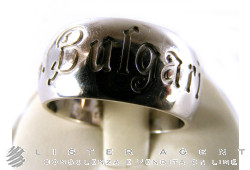 BULGARI ring in 925 silver Save the children Size 11 Ref. AN855239. NEW!