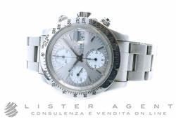 TUDOR Chronograph Oysterdate Automatic in steel Argenté and White Ref. 79160. USED!