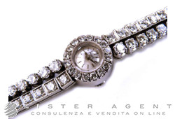 PIAGET Jewel only time lady in 18Kt white gold with diamonds. USED!