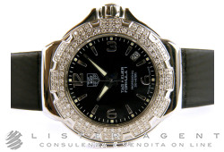 TAG HEUER Formula 1 Lady in steel and black diamonds Ref. WAC1214.BC0839. NEW!