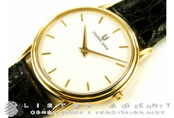 UNIVERSAL GENEVE Classic in 18Kt yellow white gold hand winding Ref. 142.180/03.5. NEW!