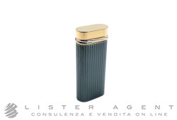 CARTIER 3-Anneaux lighter in gold plated and burnished steel. NEW!