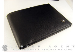 MONTBLANC wallet 4810 Westside 6cc in leather of black colour Ref. 38036. NEW!