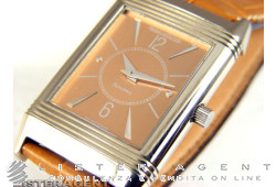 JAEGER-LE COULTRE Reverso 18Kt white gold hand winding Ref. Q250340865. NEW!