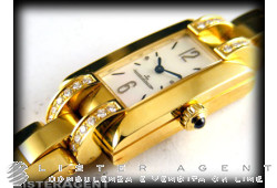JAEGER-Le COULTRE Idéale in 18Kt yellow gold and diamonds Ref. Q4601581. NEW!