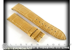 JAEGER-LeCOULTRE strap in brown leather lug MM 17,00. NEW!