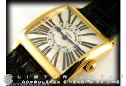 FRANCK MULLER Master Square Lady in 18Kt yellow gold Argenté Ref. 6002SQZ. NEW!