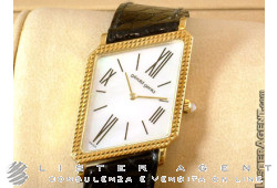 GERALD GENTA 18Kt gold lady mother of pearl hand windinguale Ref. G32107. NEW!