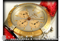 BREITLING Callisto in steel and in 18Kt yellow gold hand winding Ref. 80520AORP. NEW!