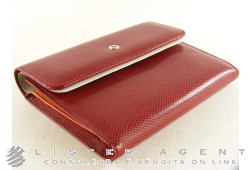 MONTBLANC Bohéme wallet 3cc in leather Red Ref. 35352. NEW!