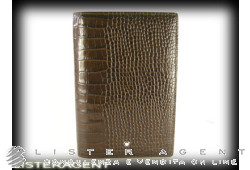 MONTBLANC small organizer  in brown leather Ref. 106683. NEW!