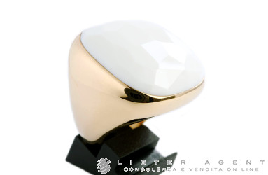 POMELLATO Victoria ring in 18Kt rose gold with white opal Ref. AA108O7AW. NEW!