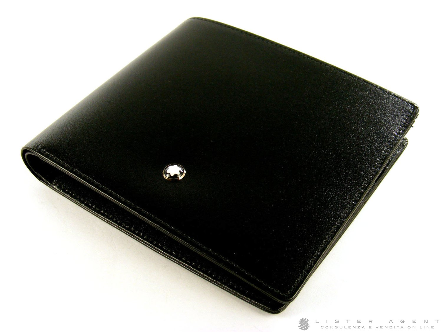 Prezzo MONTBLANC note book Meisterstuck Limited Anniversary Edition 1924 in pelle nera Ref. 75272. NUOVO!