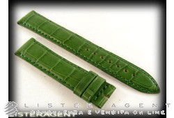 JAEGER LE COULTRE cinturino in pelle verde MM 17,00. NUOVO!