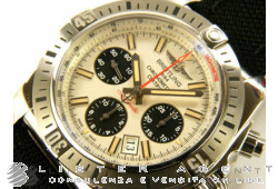 BREITLING Chronomat 44 Airborne Edition Speciale 30 Anniversaire in acciaio AUT Ref. AB01154G/G786/101W/A20D.1. NUOVO!