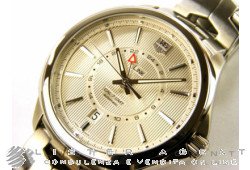 TAG HEUER Link Gmt Cal 7 in acciaio Argenté AUT Ref. WAT201B.BA0951. NUOVO!