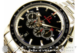 OMEGA Olympic Collection Timeless in acciaio Nero AUT Ref. 32130445201001. NUOVO!
