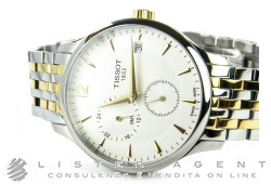 TISSOT Tradition Gmt in acciaio Argenté Ref. T0636392203700. NUOVO!