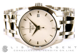TISSOT Couturier lady in acciaio Bianco Ref. T0352101101100. NUOVO!