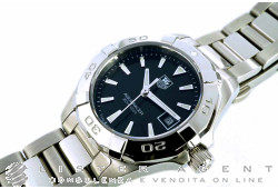 TAG HEUER Aquaracer Lady in acciaio Nero Ref. WAY1410.BA0920. NUOVO!