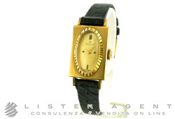 MILUS orologio Vintage lady in oro giallo 18Kt Champagne Carica Manuale. NUOVO!