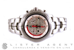 TAG HEUER Link Oracle Racing crono in acciaio Limited Edition Argenté Ref. CT1118.BA0550. NUOVO!